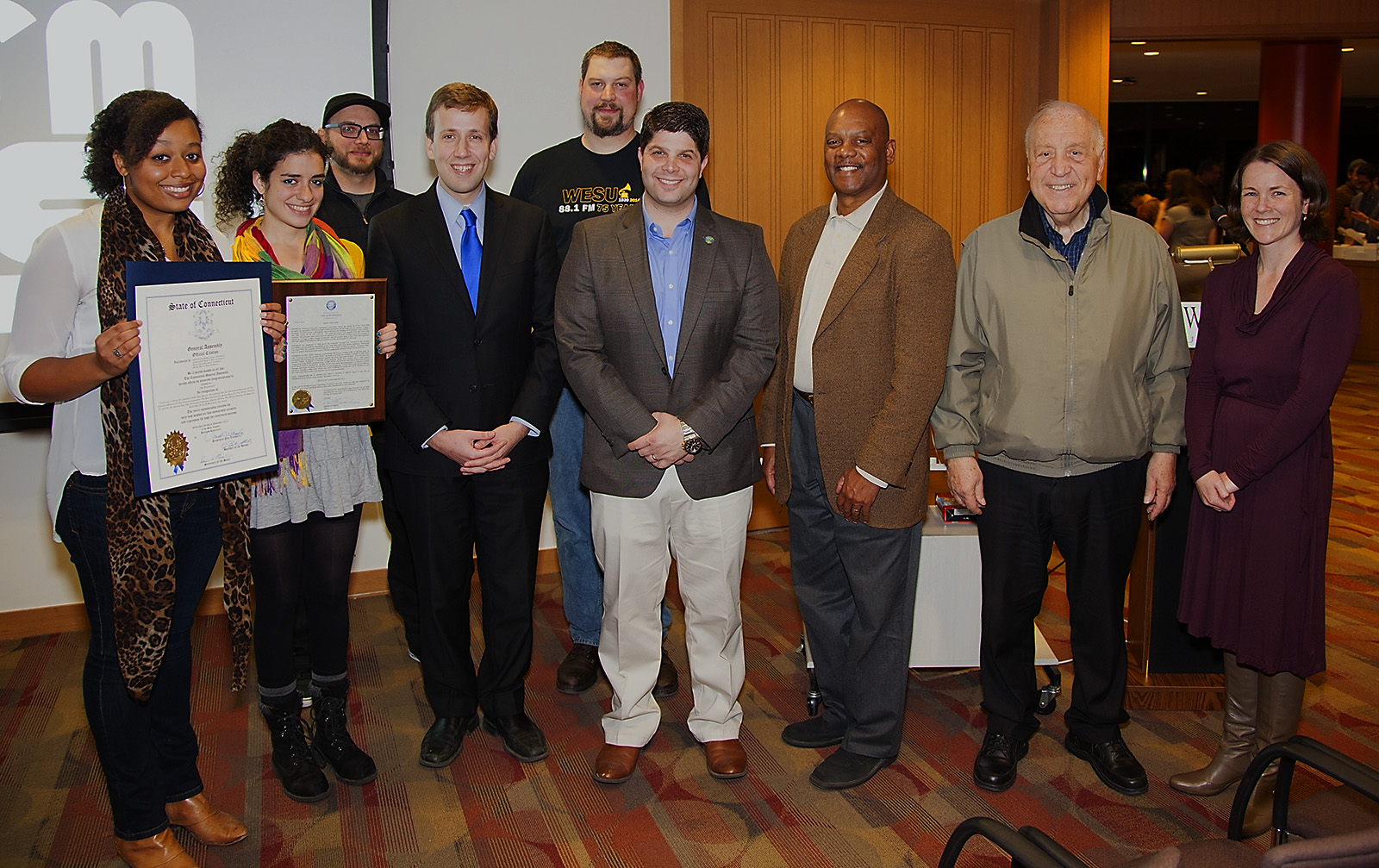 WESU honored by City and State elected officials